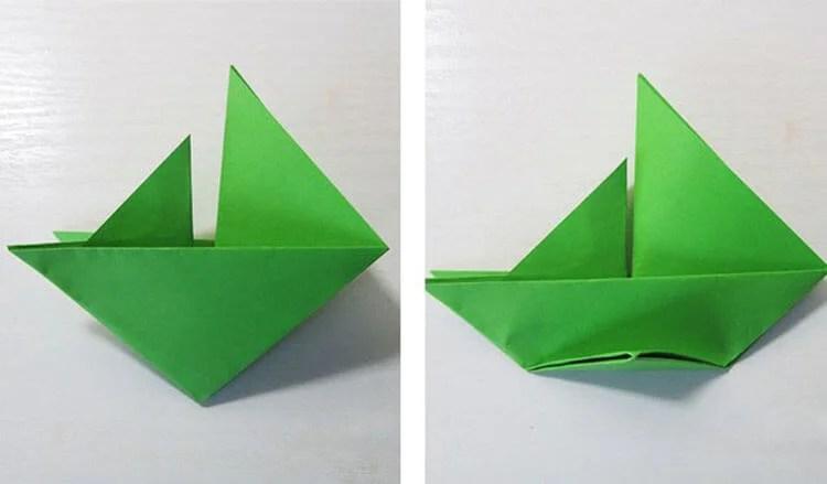 Кораблик для детей: различные способы создания со схемами и описанием korabl svoimi rukami 80