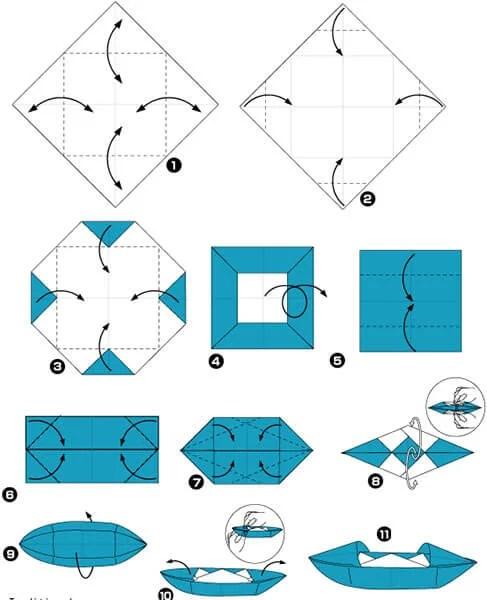 Кораблик для детей: различные способы создания со схемами и описанием korabl svoimi rukami 81