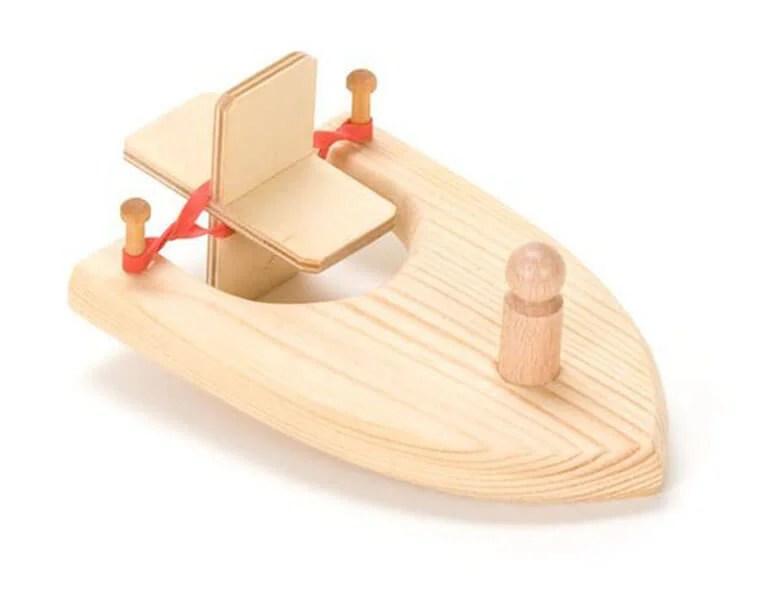 船舶为儿童:使用方案创建的各种方式和描述Korabl Svoimi Rukami 92
