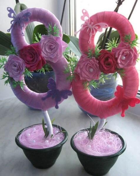 Поделки на 8 марта для любимых мам: подарок с душой своими руками podelku na 8 marta svoimi rukami 111