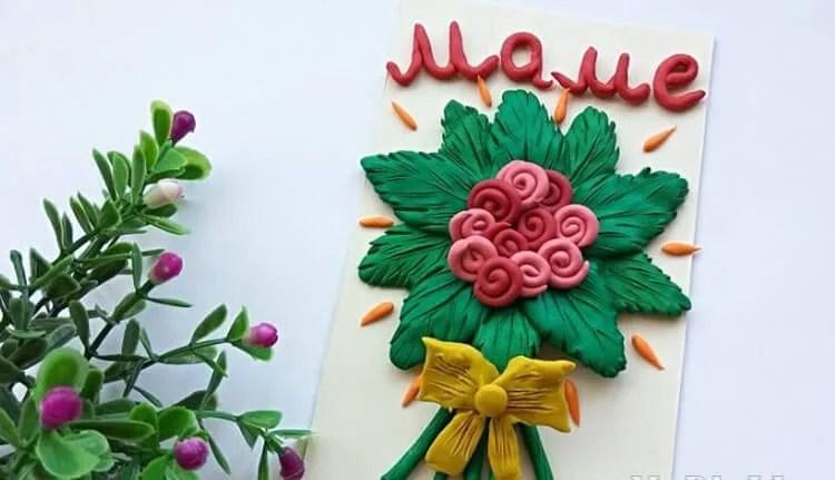 Поделки на 8 марта для любимых мам: подарок с душой своими руками podelku na 8 marta svoimi rukami 30