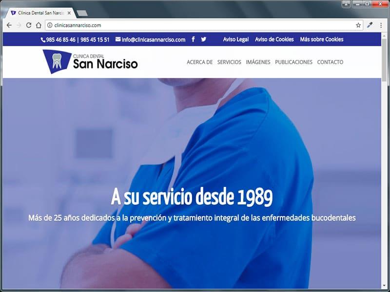www.clinicasannarciso.com