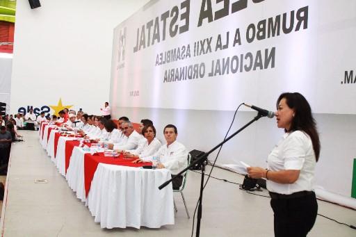 Buscan fortalecer estatutos del PRI
