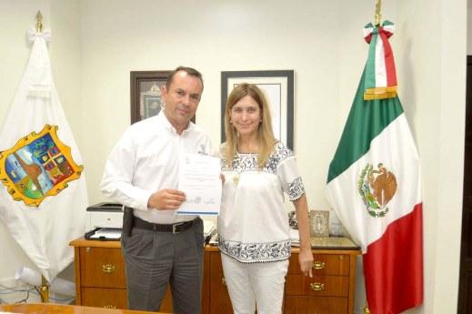 Entrega Maki Ortiz nombramientos en Secretaría de Desarrollo Económico