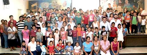 Asisten más de cien niños al campamento de verano Tamul