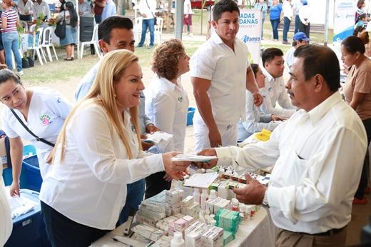 Benefician a cientos de familias en el sector Miramar