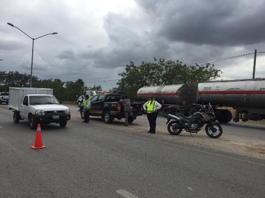 Detenidos cinco autotanques en mega operativo