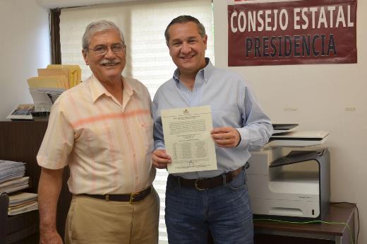 Aprueba IETAM registro de Adrián Oseguera