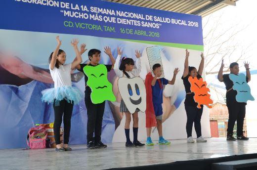 Inicia Primera Semana Nacional de Salud Bucal 2018 en Tamaulipas