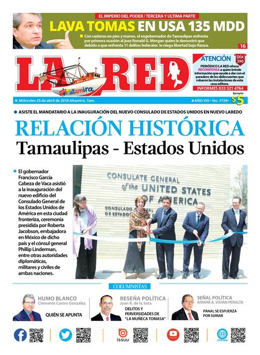 RELACIÓN HISTÓRICA Tamaulipas – Estados Unidos