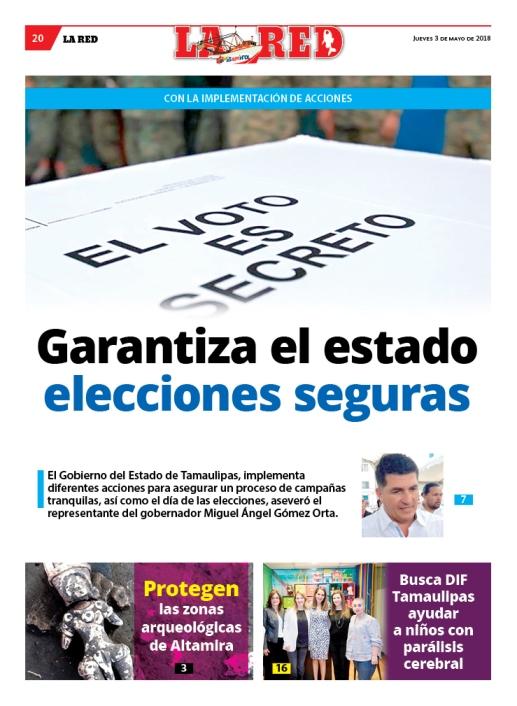 Garantiza el estado elecciones seguras