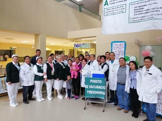 Realizará IMSS más de 682 mil acciones en primera Semana Nacional de Salud