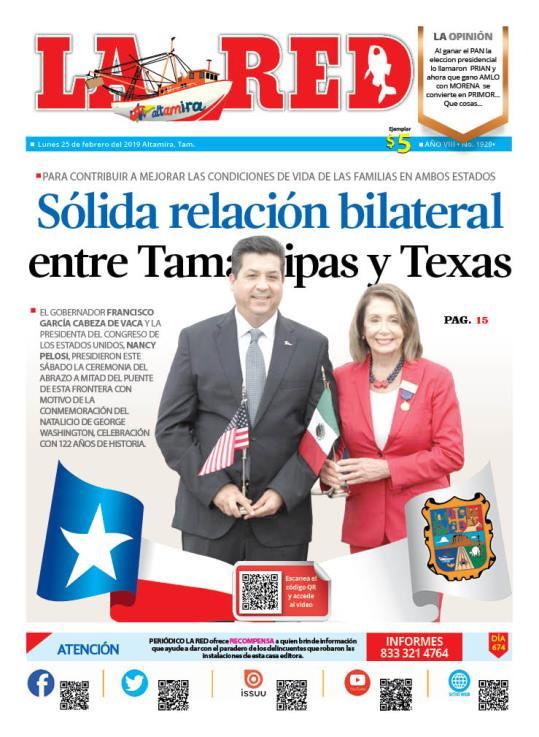 Sólida relación bilateral entre Tamaulipas y Texas
