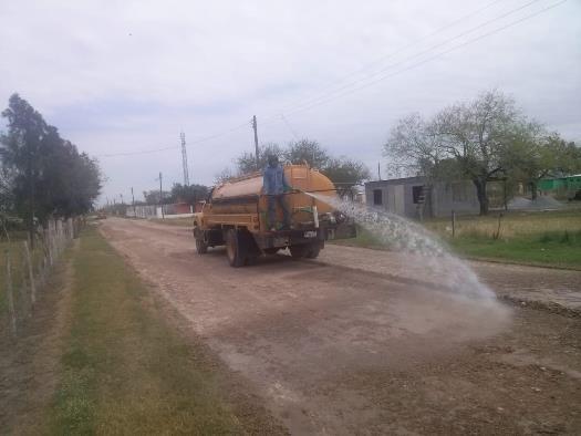 Rehabilita José Ríos calles de Emiliano Zapata