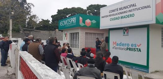 Celebra PRI Madero aniversario del partido