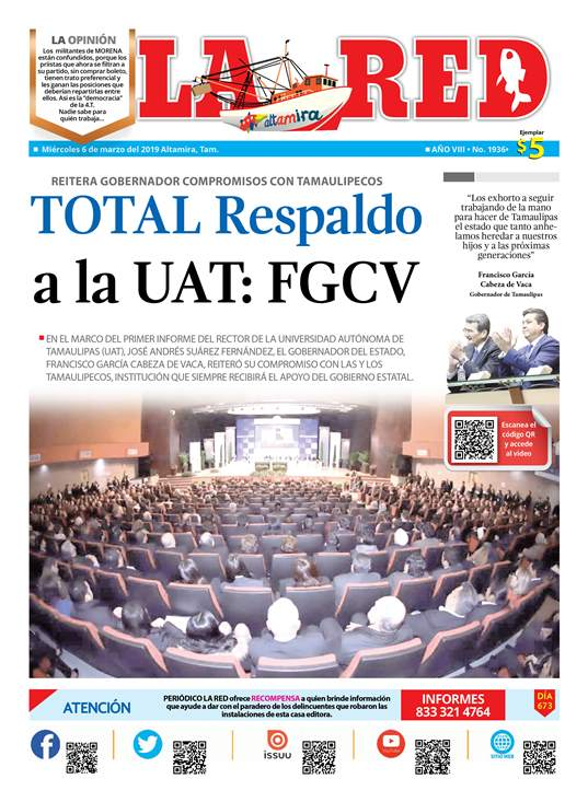 Total Respaldo a la UAT: FGCV
