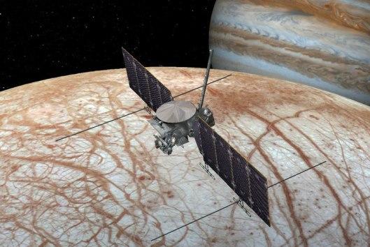 Dan luz verde a misión 'Clipper' a la luna Europa de Júpiter