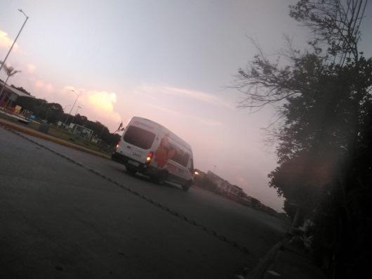 Sin transporte público en Libres de Altamira