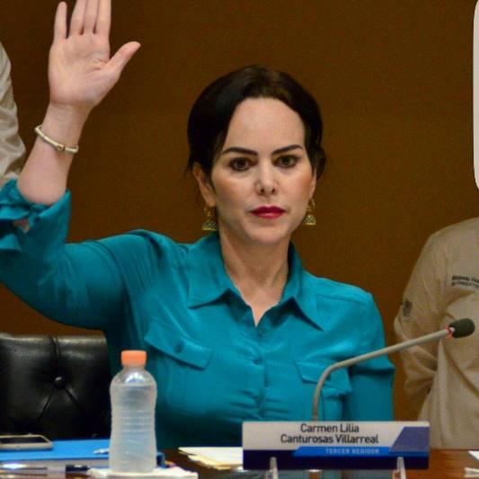 Desconoce Congreso a Lilia Canturosas como líder de Morena