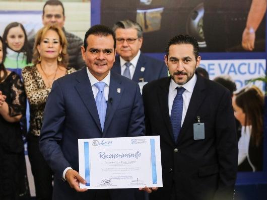 Reconoce CEN del PAN a Enrique  Rivas por su trabajo por NLD