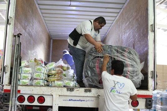 Activan Gobierno y DIF Tamaulipas acciones de apoyo a familias del altiplano