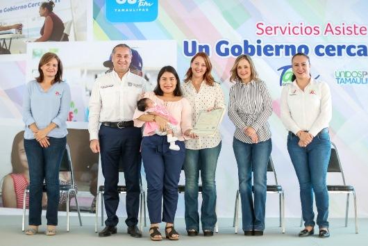 Un Gobierno Cerca de Ti, ofrece miles de servicios institucionales gratuitos en la zona sur de Tamaulipas