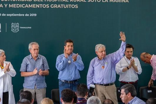 Destaca presidente de la república coordinación con Gobierno de Tamaulipas