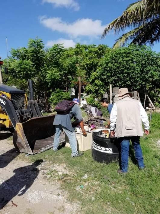 Lleva Ciudad Madero acciones de limpieza y descacharrización a colonias