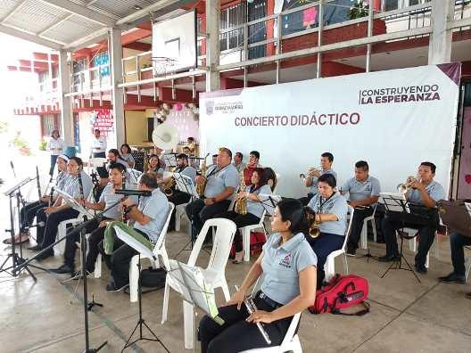 Promueven la música en la niñez maderense
