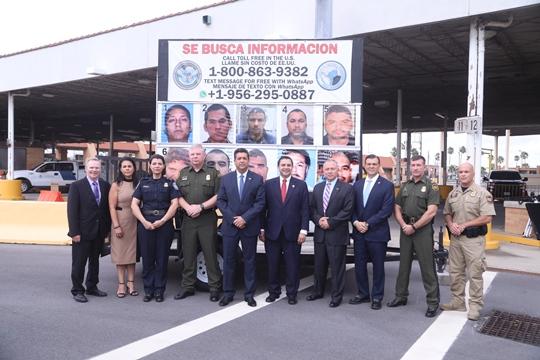 """Presentan Gobierno de Tamaulipas y agencias federales estadounidenses nueva fase de campaña binacional """"Se Busca"""""""