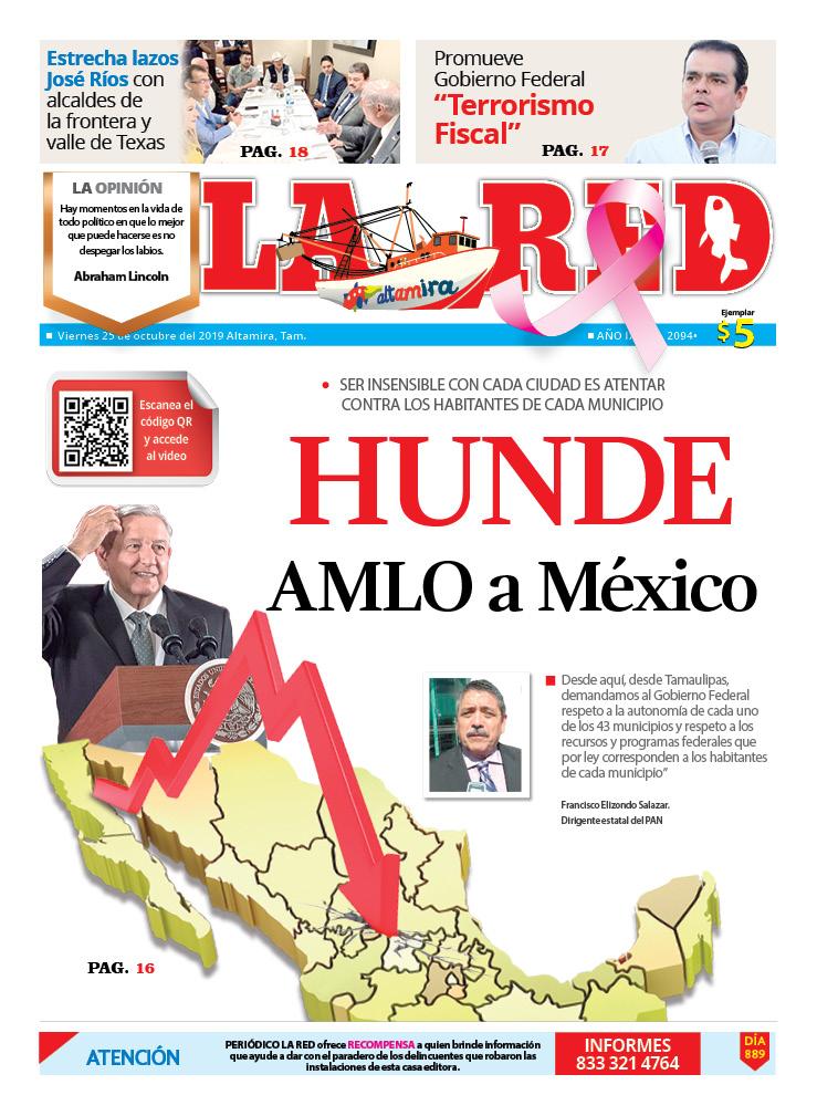 Hunde AMLO a México