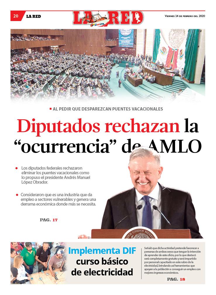 """Diputados rechazan la """"ocurrencia"""" de AMLO"""