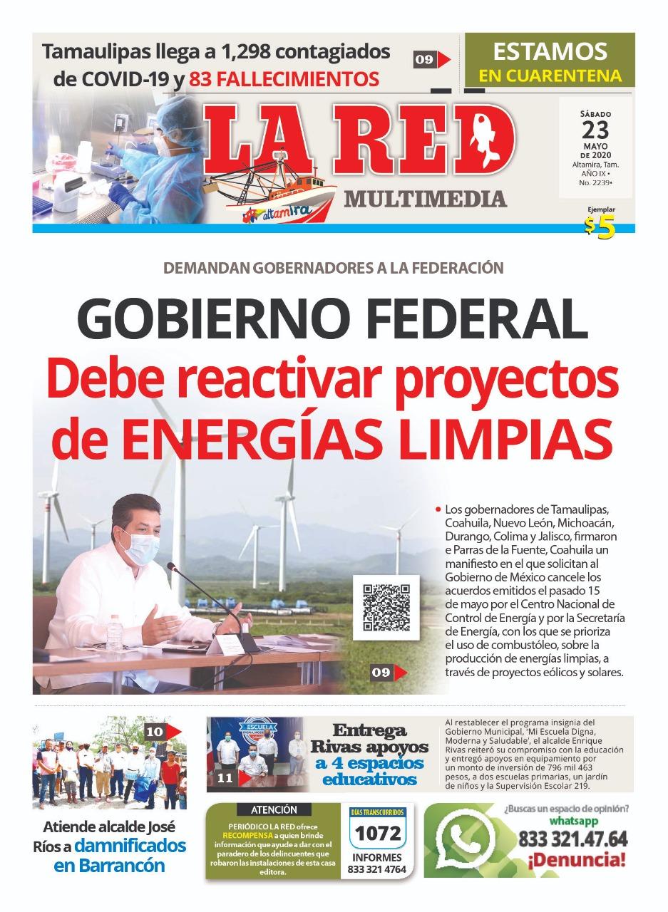 Gobierno Federal debe reactivar proyectos de energías limpias