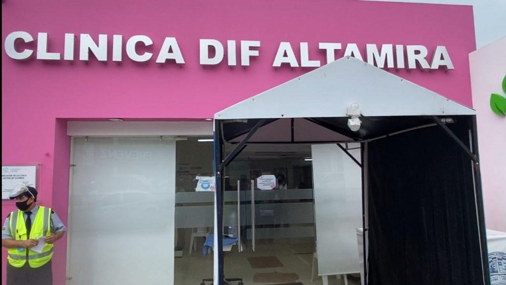 Modifican Clínica del DIF Altamira para una mejor atención
