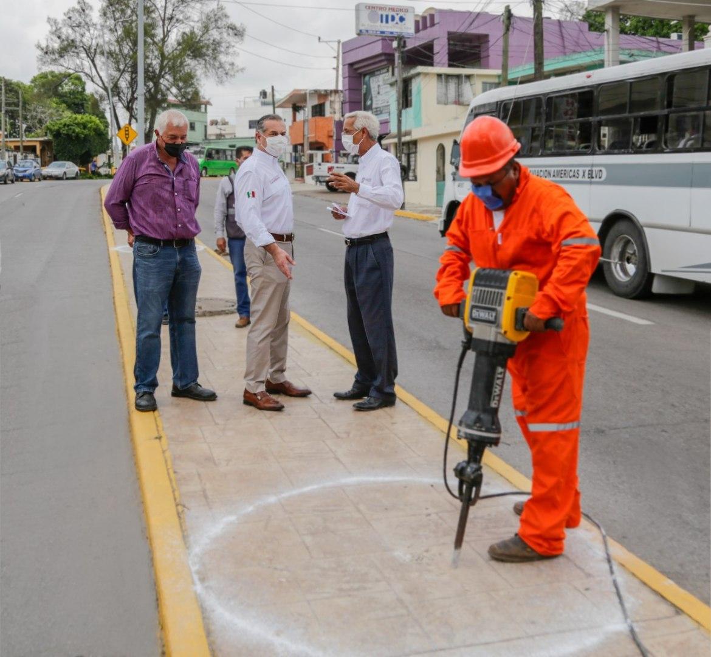 Avanza mejoramiento de imagen urbana en Madero
