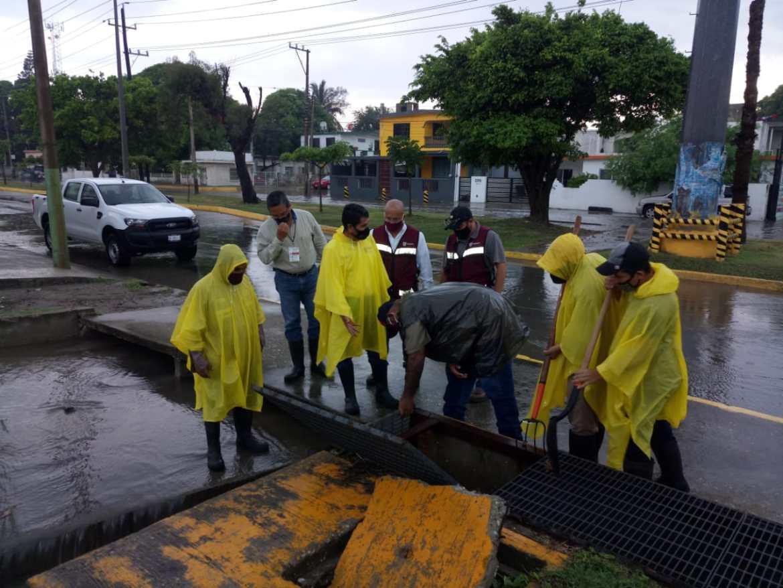 Atiende ayuntamiento afectaciones por lluvias