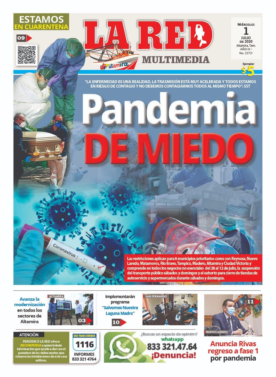 PANDEMIA DE MIEDO