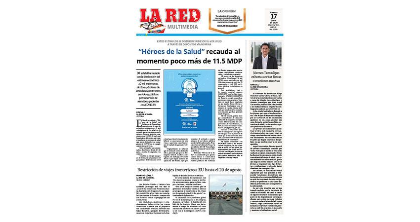 """""""Héroes de la Salud"""" recauda al momento poco más de 11.5 MDP"""