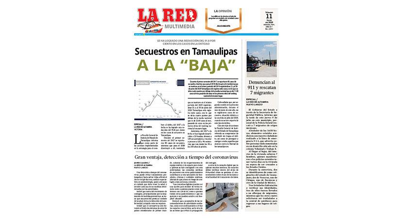 """Secuestros en Tamaulipas a la """"Baja"""""""