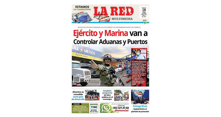 Ejército y Marina van a Controlar Aduanas y Puertos