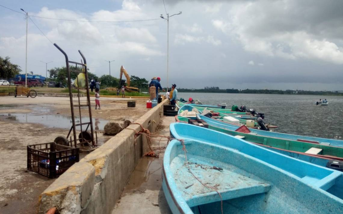 Urgente ampliar muelle para lanchas del centro de Altamira