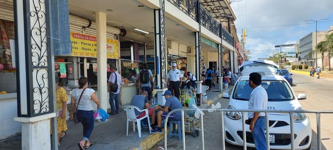 Piden comerciantes estrategia vial en zona centro