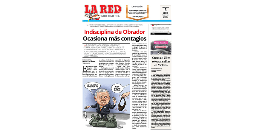 Indisciplina de Obrador ocasiona más contagios