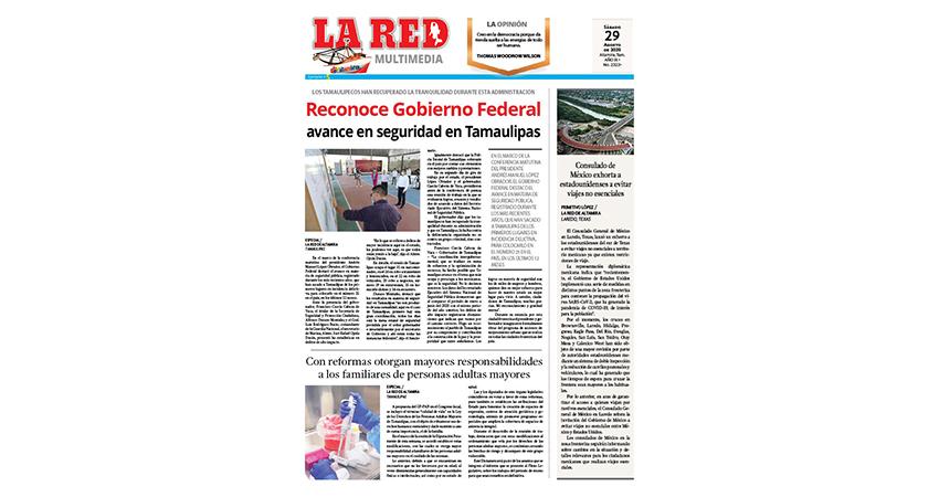 Reconoce Gobierno Federal avance en seguridad en Tamaulipas