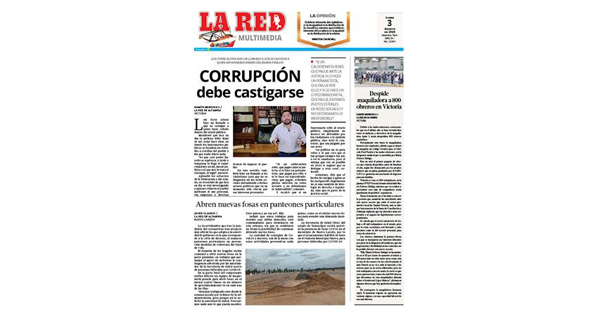 Corrupción debe castigarse