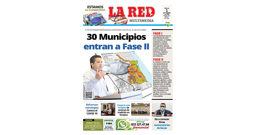 30 municipios entran a Fase II