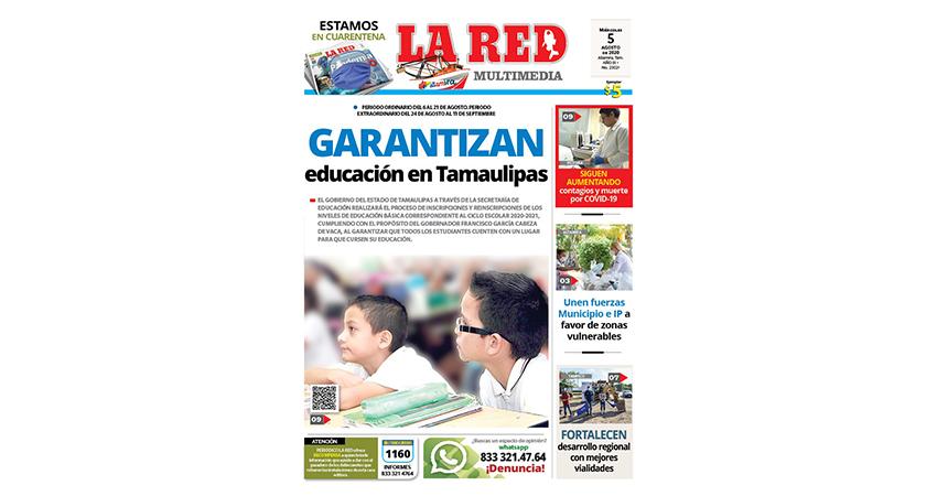 Garantizan educación en Tamaulipas