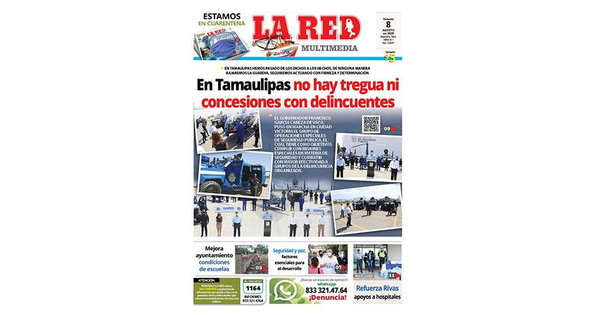 En Tamaulipas no hay tregua ni concesiones con delincuentes
