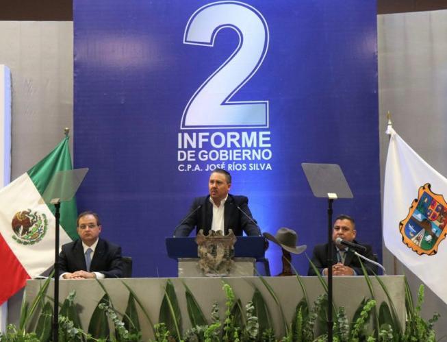 Realizará José Ríos su Segundo Informe de Gobierno