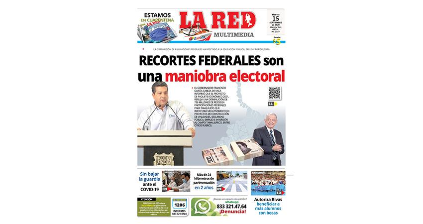 RECORTES FEDERALES son una maniobra electoral
